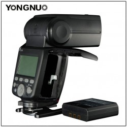 Yongnuo YN686EX-RT supporterer Canons RT System, HSS-20