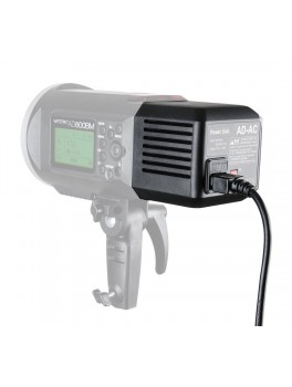 Godox AC Adapter til Witstro AD600 flashlight-20