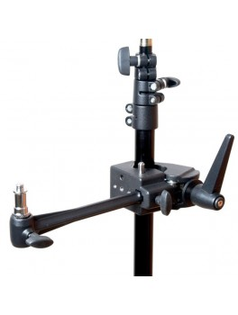 "Phottix Multi Clamp m. Spigo 1/4"" and 3/8"" and Mounting Arm-20"